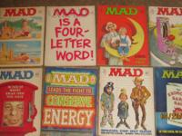 Mad Collectable Magazines  Have the following Mad