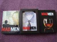 Mad Men Season one $10 Mad Men Season two SOLD Mad Men