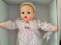 Selling a Madame Alexander Cuddle me Bows Huggums Doll