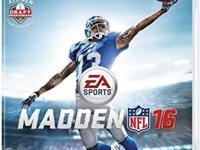 I am selling my like brand new MADDEN 16 for PS3 game.