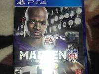 i have madden 25 for the ps4 for sale. $30 like new, no