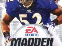 Madden NFL 2005 ~ PS2 (DVD) - Good Condition $4 Selling