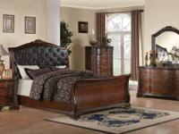 MADDISON/SLEIGH QUEEN BEDROOM SET  *$2349.00  QUEEN