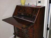 Selling a lovely handmade solid mahogany antique