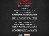 (2). Sat/sun tickets to made in America festival with