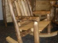 We have a stunning rocking chair available for sale. It