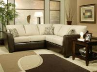 Unique Amp Rich Contemporary Look Chocolate Sectional