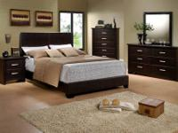Madison Bedroom Group * Quality construction. * Bed is
