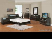 MADISON BEDROOM SET This modern and stylish bedroom set