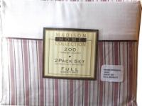 "200 Thread CountTwo Flat Sheets 81"" x 96"" , Two Fitted"