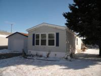 Come check out this 2 bedroom 2 bath mobile home with