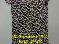 Madison (XL) dress, NEW  and it is on sale: