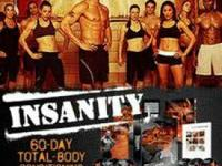 For sale is a complete workout set of insanity in its