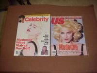 Madonna Magazines, Lot of 3, Each Issues is Mint, Like