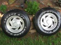 For sale are a pair of 15x8 boyd mag rims. They are