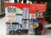 Magic Bullet 17pc set.  Complete and in excellent