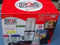 Magic Bullet 17-Piece Blender/Mixer. New in Box. Please