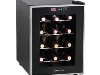Magic Chef MCWC12SV is thermoelectric wine cooler that