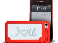The case is really cool, you can write on it quick and