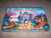 magic kingdom board game from disney world smoke/pet