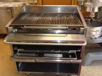 "For Sale 36"" MagiKitch 'n Charbroiler with lower rack"