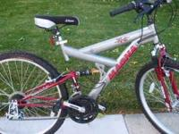 I have a Magna Dual Suspension Mtn Bike for sale. It