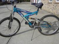 Magna Excitor 21 Speed Mountain Bike  2x Suspension