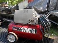 Up for sale or trade I have a nice 31/2 HP Magna Force