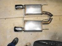 Magna Flow Mufflers (2) Were gotten rid of from a 2014