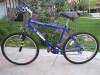 THIS IS A ELECTROSHOCK MAGNA MOUNTAIN BIKE ROYAL BLUE