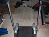 Up for sale is a manual magnetic resistance treadmill.