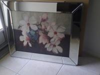 MAGNOLIA MIRROR PICTURE - $25 FIRM ON PRICE ... IT 'S
