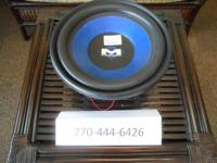"Magnum 10"" Speaker not in box. Works great. If"