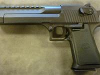 The Desert Eagle Pistol is a gas-operated,