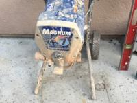 This is a used magnum fromGraco X7 Airless Paint