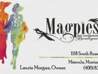 MAGPIES CHIC CONSIGNMENT BOUTIQUE. Good brand-new and