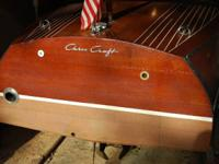I have an old collectible Chris Craft shipshape that