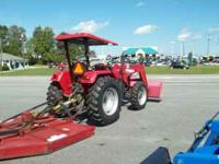2006 MAHINDRA 5500 4WD TRACTOR AND LOADER 55 HP 44 PT0