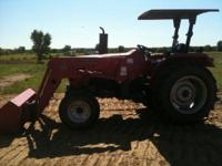 2008 MAHINDRA WITH FRONT END LOADER LESS THAN 400