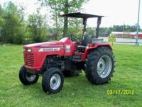Mahindra 6025 2WD Tractor with dual remotes and only