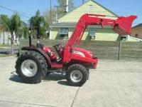 2009 4110 Mahindra 4x4 diesel tractor. Only 252 hours,
