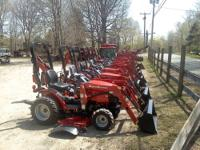 Sale on all in stock Mahindra Tractors Max22 Tractor,