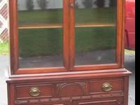 for sale is a 3-piece Mahogany Dining Room SET quite