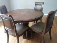 All Mahogany wood dining room set.Only 3 years old!