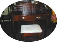 I have for sale a used Mahogany finish Secretary's Desk