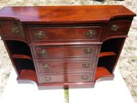 actual mahogany wood. Mahogany Maddox Co. Secretary
