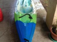 Mainstream Renegade 12' Sit on top Kayak. Includes a