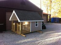 Kid's playhouse. 6ft. Wide by 10ft long 6ft tall