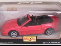 MAISTO 1:24 DIE CAST MODEL 1994 MUSTANG GT. NEVER OUT