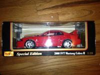 Maisto Special Edition 2000 SVT Mustang Cobra R